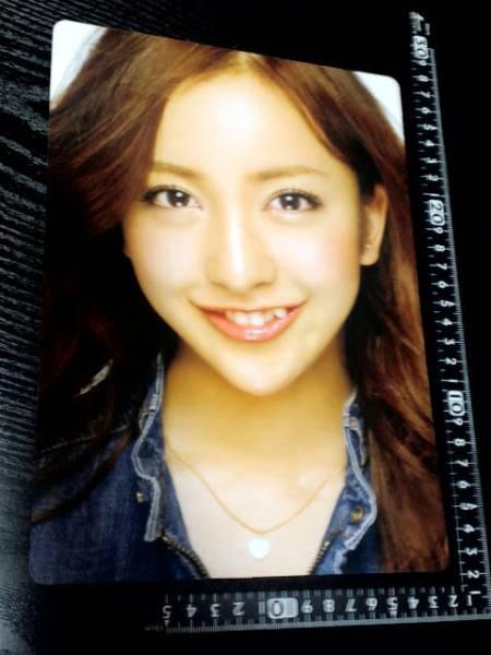 非売品☆トキメキ☆AKB48☆板野友美☆下敷きどすぅ~☆⑰☆残1_画像1