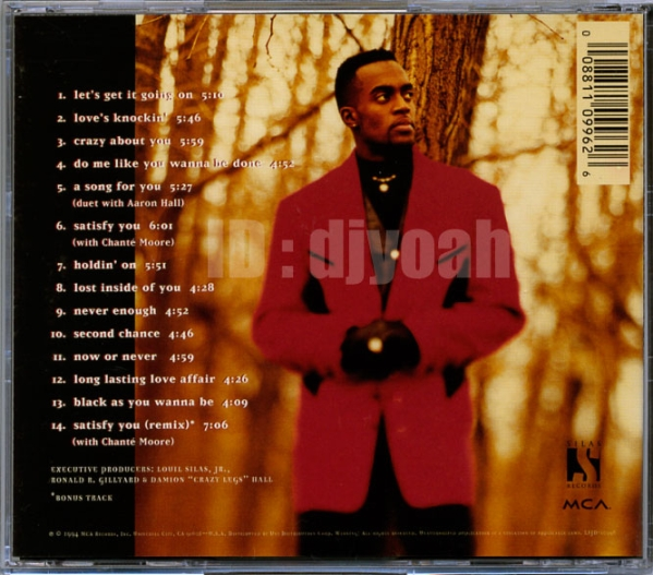 Damion Hall / Straight to the Point ☆GUY, Aaron Hall の弟, Chante Moore_画像2