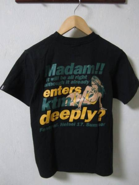 KTM ケツメイシ 2005マダム夏フェスツアーTシャツ 黒 Sサイズ ③