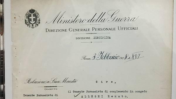 ファシストイタリア頭領ムッソリーニ自筆サイン入文書ーヒトラー_画像2