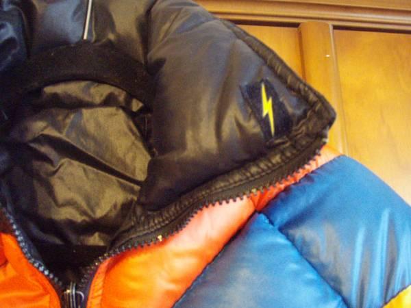 ライトニングボルトLIGHTNINGBOLT ロンハーマン希少 ビンテージ当時物オールドスタイル ジェリーロペス ダウンジャケット_画像2