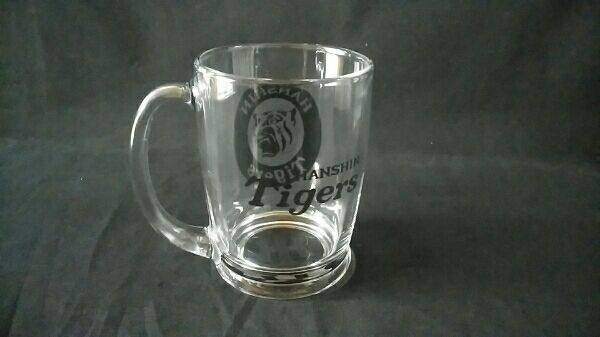 limited sale Hanshin Tigers mug mug gla spade unused new goods