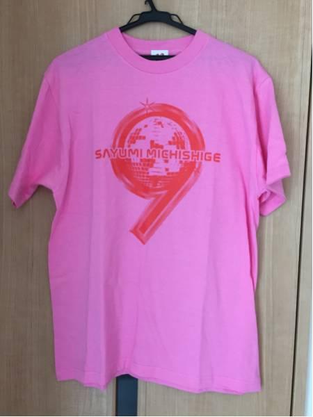 道重さゆみ PLATINUM 9 DISCO Tシャツ サイズL モーニング娘。 コンサートグッズの画像