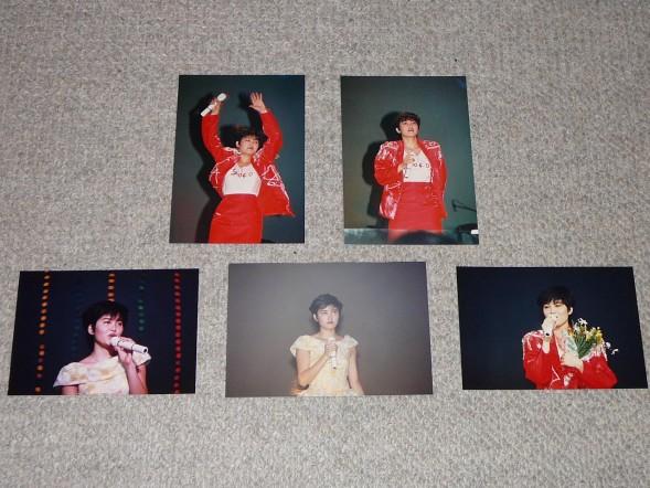 80年代アイドル 荻野目洋子 イベント生写真⑥