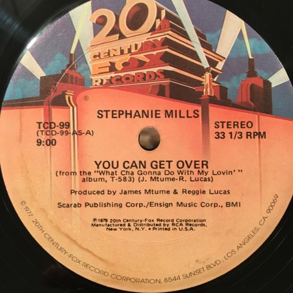 □Stephanie Mills/You Can Get Over□C.O.M.B.i.ネタ!_画像1