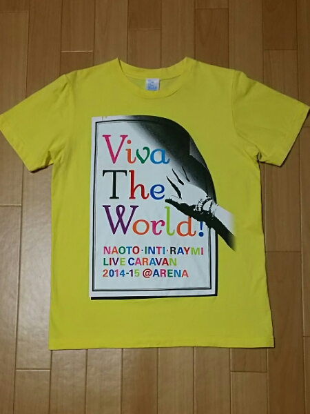 ナオト・インティライミ 2014 viva the world Tシャツ