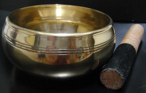 ◆チベット密教法具-シンギングボール(瞑想鈴)-166