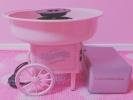 海外 レトロデザイン 綿菓子機 ピンク 変圧器 付き spank