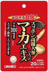 送料無料■スッポン高麗人参の入ったマカエキス■120粒 オリヒロ_画像1