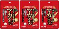 送料無料■スッポン高麗人参の入ったマカエキス■3個■オリヒロ