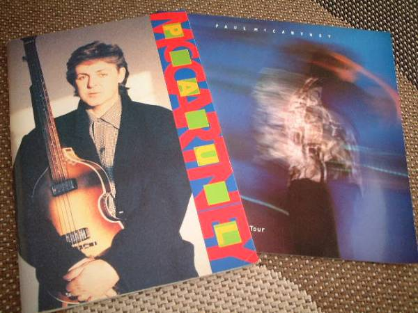Paul McCartney★ポール・マッカートニー★/89 90/93公演パンフ ービートルズ ライブグッズの画像