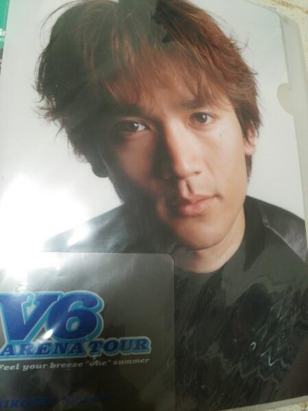 V6トニセン20thCentury長野博クリアファイル2002