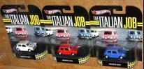 Hot Wheels Retro ミニミニ大作戦 1/64 Morris Mini モーリス ミニクーパー 3台 Italian Job
