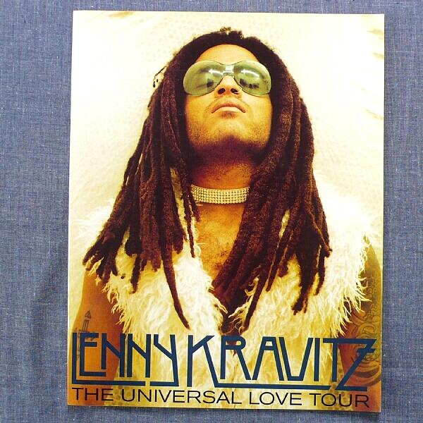 レニー・クラヴィッツ Lenny Kravitz ツアーパンフレット 1994