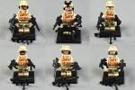 【送料無料】【特価品】レゴ互換 特殊部隊 SWAT6体セット 武器多数 ①