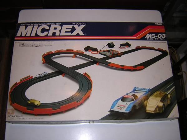 旧トミー マイクレックス MS-03 コンピューターカーセット 新品_画像1