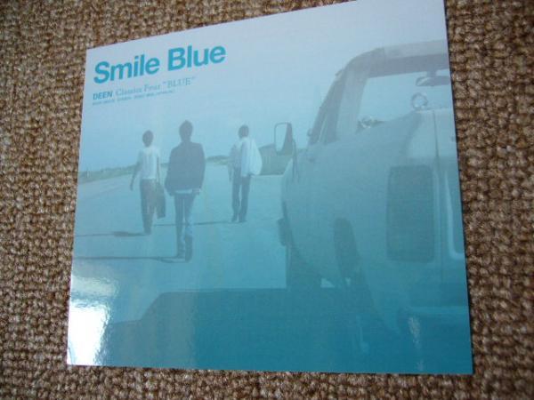 レア 非売品 ステッカー DEEN SmileBlue 押尾コータロー