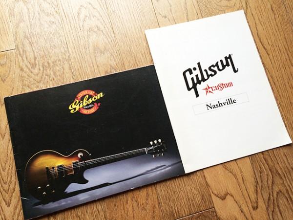 Gibson ギブソン カタログ 2種 2004~2005