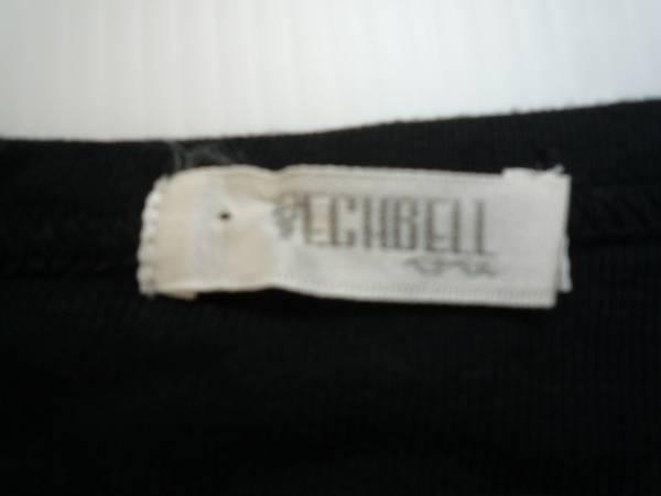 【良品!】 ◆ ベチベル / VECHBELL ◆ 長袖カットソー イラスト 黒_画像3