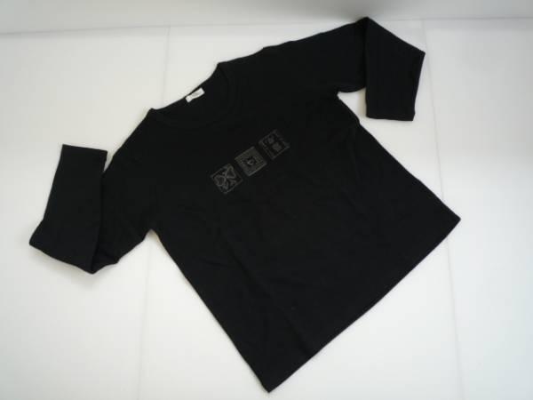 【良品!】 ◆ ベチベル / VECHBELL ◆ 長袖カットソー イラスト 黒