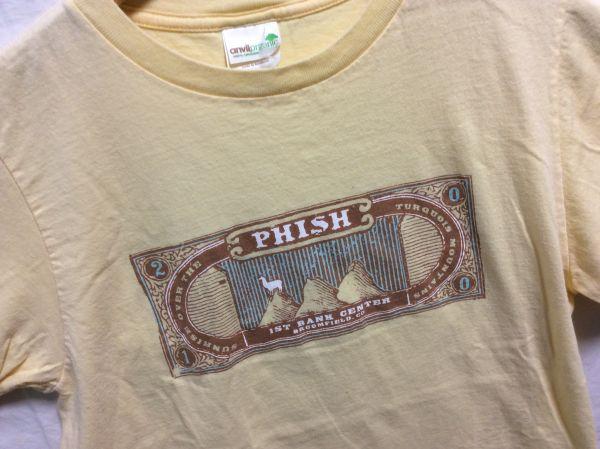 セール!USA ユーズド プリントT PHISH フィッシュ 2010 S