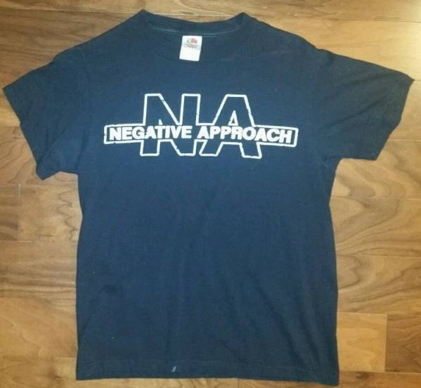 Negative Approach Tシャツ BLACK FLAG Hardcore punk