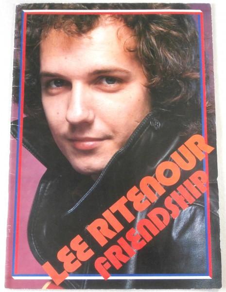 ◎即◆ツアーパンフレット◆リー・リトナー LEE RITENOUR 1978年