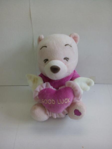 P1090♪Disney くまのプーさん ぬいぐるみ ピンク ディズニーグッズの画像