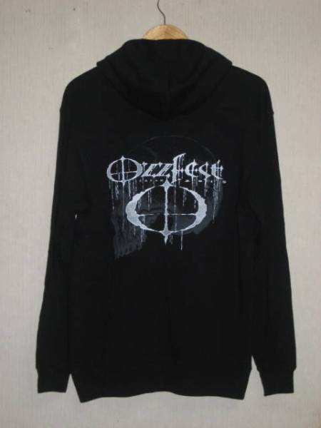 1 OZZFESE JAPAN 2015 ZIP パーカー L 黒 未使用品