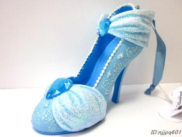 新品 ディズニー シンデレラ シューオーナメント 靴 US WDW限定 ディズニーグッズの画像