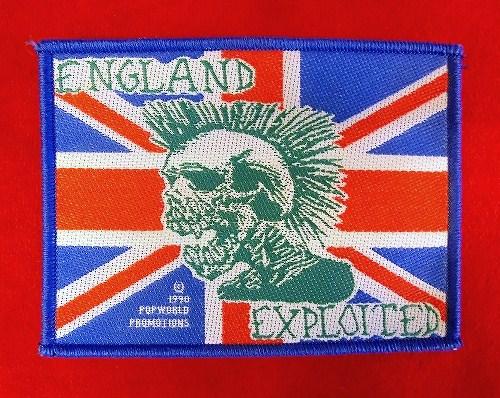 THE EXPLOiTED エクスプロイテッド ロックワッペン 新品 666 GBH RANCID DISCHARGE PUNK ランシド パンク ハードコア セディショナリーズ