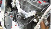 Suzuki GSF 1200 BANDIT ( スズキ GSF1200 バンディット) 等 油冷エンジン用 フレーム スライダー GSG Mototechnik ドイツ製 送料無料