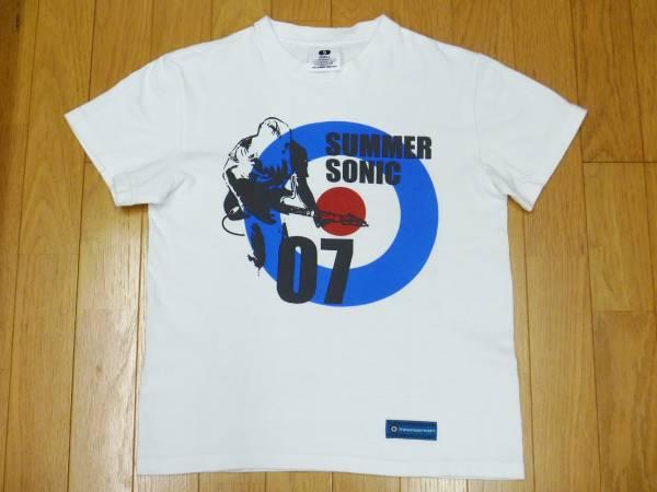 【 サマーソニック2007 】プリントTシャツ 白