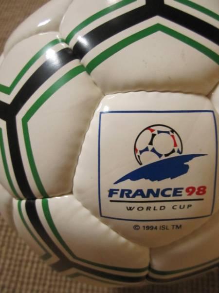 *新品*1998 FIFAワールドカップ フランス サッカーボール公式サイズ