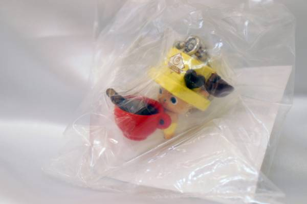 ワンピース ログコレクション ONE PIECE Log Collection NICO・ROBINの予約特典 ティータイムチョッパーマンマスコット ティーカップ★新品_画像1