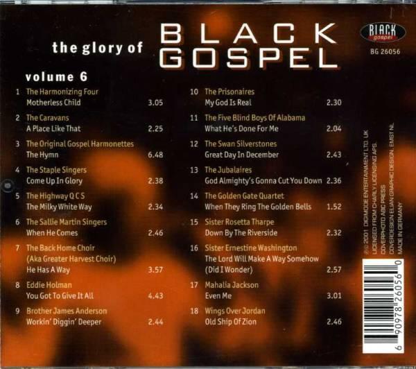 ◆ブラック・ゴスペル VOLUME6 マザーレスチャイルド/河を下って_画像2