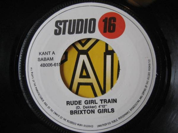 ★Brixton Girls/Rude Girl Train★レアジャケ付7!_画像2