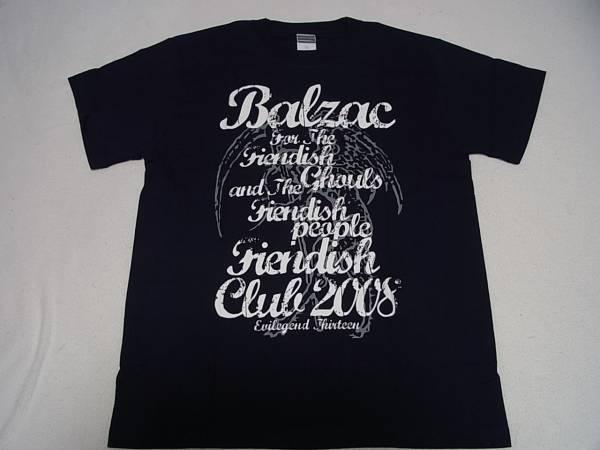 BALZAC FENDISH CLUB 2008 Tシャツ Mサイズ バルザック 未使用