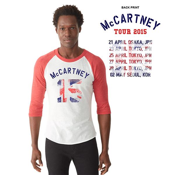 ポールマッカートニー アウトゼアー2015 Tシャツ M 未使用
