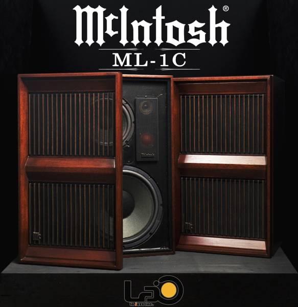◆McIntosh マッキントッシュ ML-1C 4ウェイスピーカー ペア◆_画像1