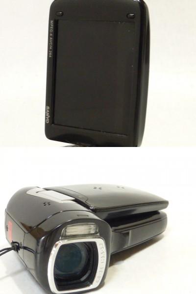 ★サンヨー デジタルビデオカメラ Xacti DMX-CG9型 未確認 ジャンク_画像2