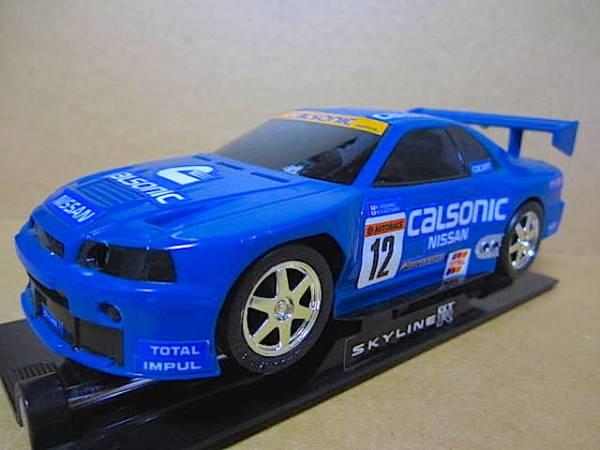 c032 スカイライン GT-R R33 ● ラジコン スペシャル版 ケース付き_画像2