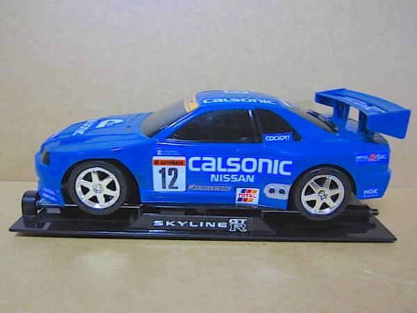 c032 スカイライン GT-R R33 ● ラジコン スペシャル版 ケース付き_画像3