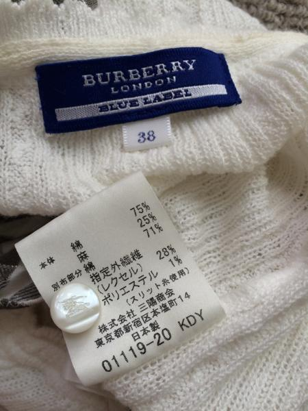 BURBERRY BLUE LABEL 38_画像2