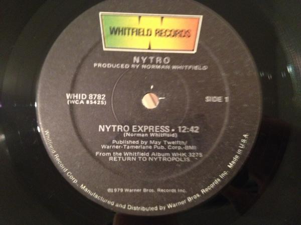 ☆Nytro/Nytro Express☆THE LOFT/DJ HARVEY!_画像1