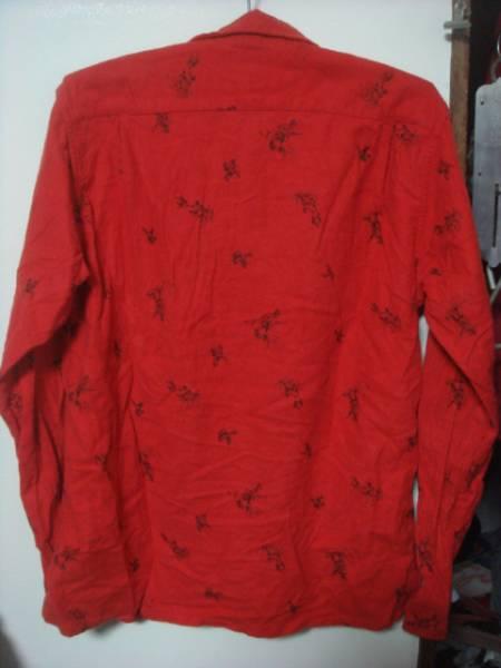 1601USアメリカ製ウールリッチ ウーレンミルズwoolrich woolenmillsハンティング総柄ネルシャツ鈴木 大器フランネルNEPENTHESネペンテス_画像2