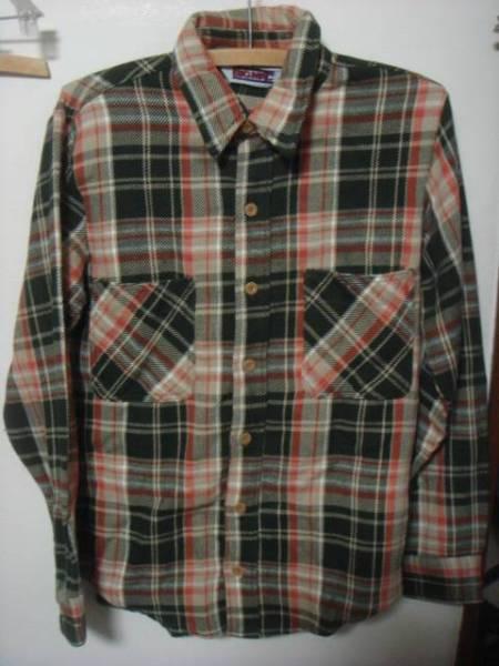 1606BIGMACビッグマック織り ヘビー ネルシャツJC PENNEYペニーPENNEY'SオールドOLD_画像1