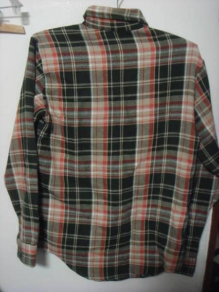 1606BIGMACビッグマック織り ヘビー ネルシャツJC PENNEYペニーPENNEY'SオールドOLD_画像2