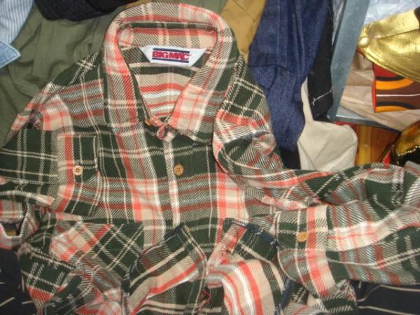 1606BIGMACビッグマック織り ヘビー ネルシャツJC PENNEYペニーPENNEY'SオールドOLD_画像3