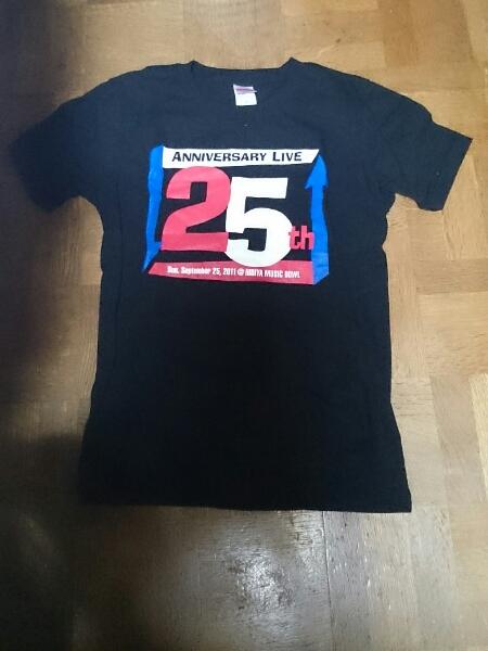 THE COLLECTORS 25周年記念ライブTシャツ(黒)S ザ・コレクターズ